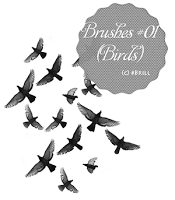 Brushes #01 (Birds) by lucemare