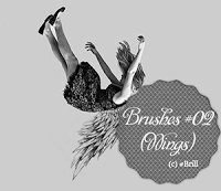 Brushes #02 (Wings) by lucemare