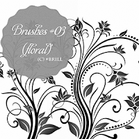 Brushes #03 (Floral) by lucemare