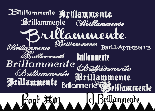 Download Fonts Pack #01 (dafont.com) by lucemare on DeviantArt
