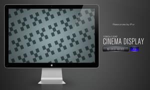 Cinema Display PSD