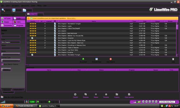 Purple n Black LimeWire Update