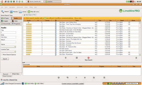 Ubuntu for LimeWire