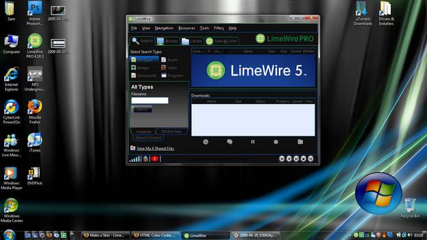 Vista Ultimate for LimeWire