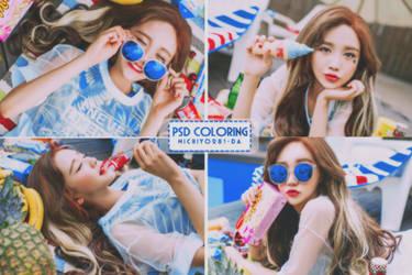 PSD Coloring #15 by michiyo281