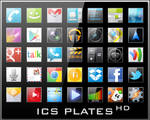 Android Icons | ICS Plates HD