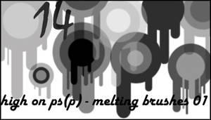Melting brushes 01