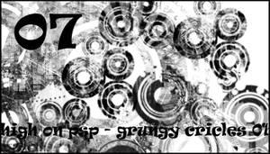 Grungy Circles 01