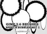 speech bubbles GIMP brushes 1