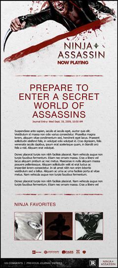 Ninja Assassin-Skin 2