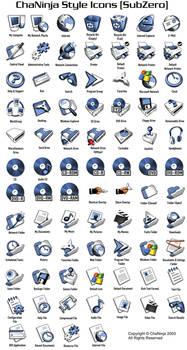ChaNinjaStyle-SubZero Icons