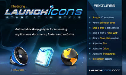 LAUNCHicons