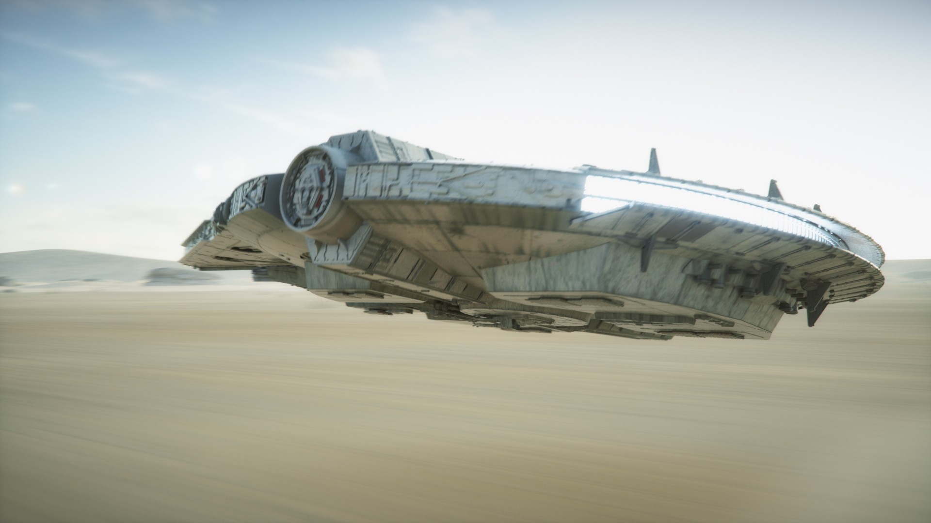 DesertRun Millenium Falcon