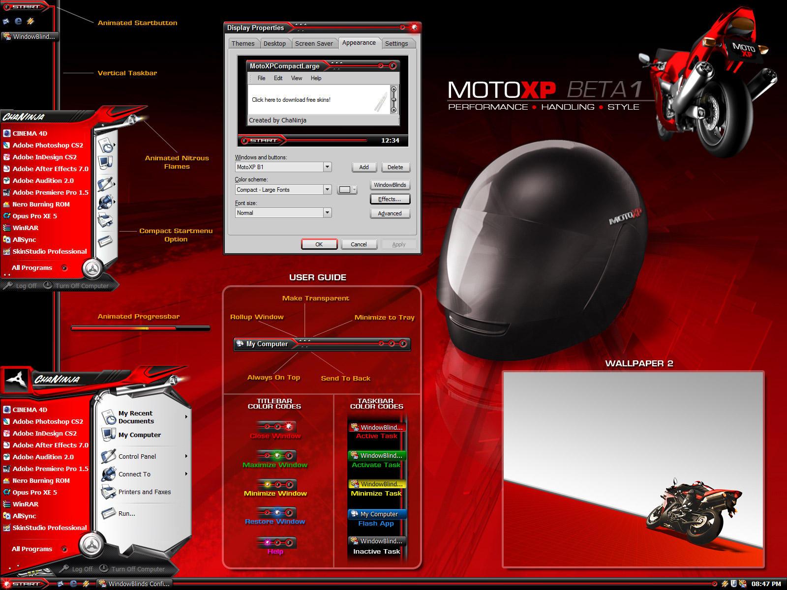 MotoXP - Beta 1 by chaninja