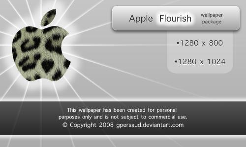 Apple Flourish by gpersaud