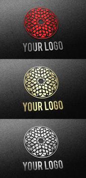 Foil Logo Mock-Up