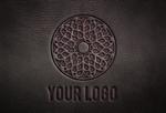 Leather Logo Mock-Up