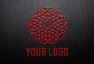 Stiched Logo Mock-up