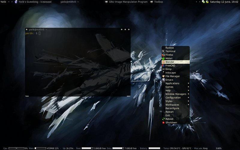 Space98 fluxbox theme by yorikvanhavre