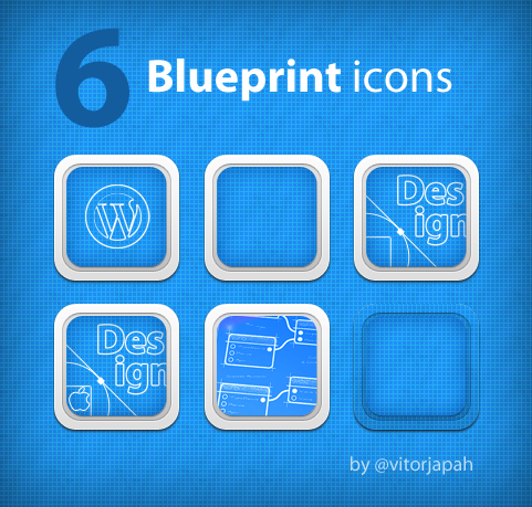 Blueprint icons by vitorhugojapa on deviantart for Blueprint app free