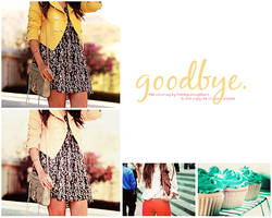 PSD OO5|Goodbye by SoClosePsd