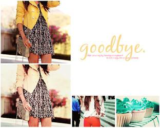 PSD OO5|Goodbye by SoClosePsd