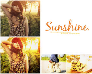 PSD O15 Sunshine by SoClosePsd