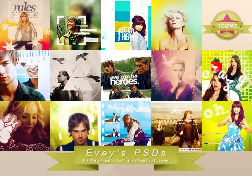 Icons PSDs by Evey-V