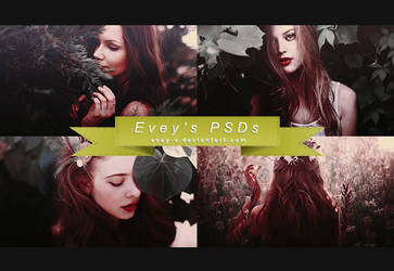 PSD #100 - Voices in my mind by Evey-V