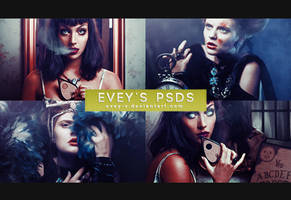 PSD #124 - Goddess of Nightmares by Evey-V