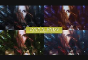 PSD pack #7 - Badlands by Evey-V
