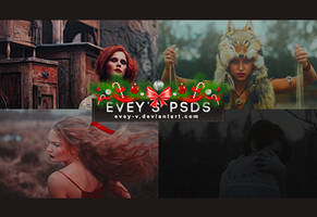 PSD Pack #11 - Wild Cards by Evey-V