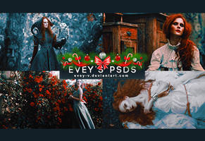 PSD #202 - Thorns and Roses by Evey-V