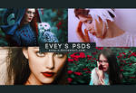 PSD Pack #14 - Technicolor Beat by Evey-V