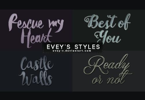 Revenge Styles by Evey-V