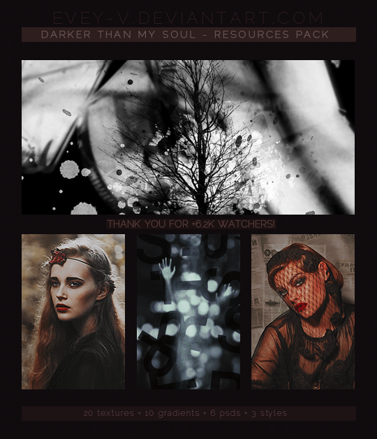 Darker Than My Soul - Resources Pack by Evey-V