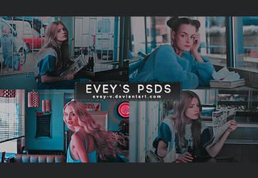 PSD #312 - Chica Pow Pow by Evey-V