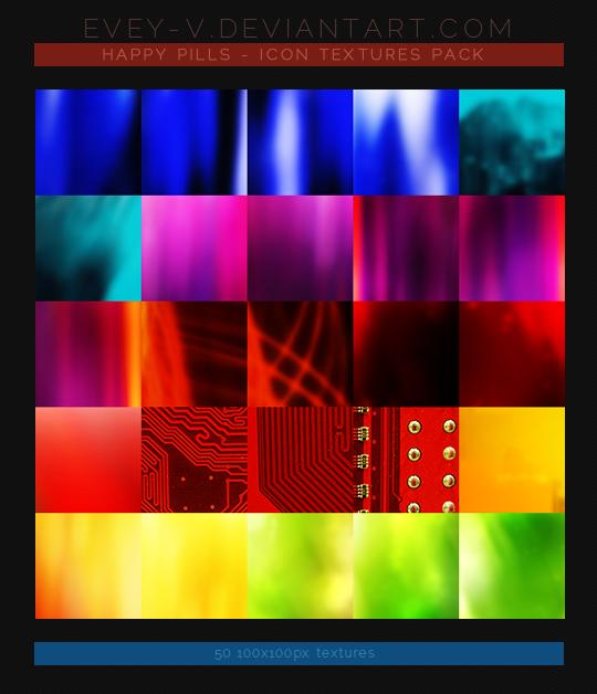 #26 Icon Textures Pack - Happy Pills
