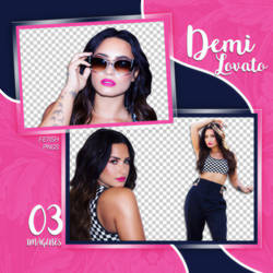 PACK PNG 141 // DEMI LOVATO
