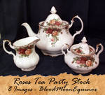 Tea Party Stock: Roses