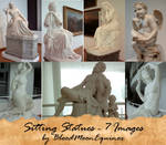 Sitting Statues - 7 Images