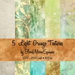 5 Light Grunge Textures