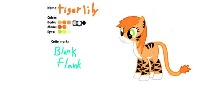 Tigerlily ref