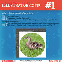 Illustrator CC Tips and Tricks | #1 Clipping Masks