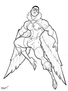 Marvel In Heels - Falcon