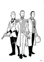 Edwardian Babylon 5 gentlemen by BevisMusson