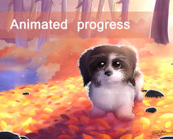 Forest Walk - Animated Progress by NezuPanda