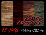 Holz Feinschnitt