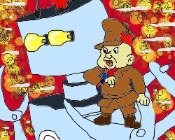 my Giant Robo parody by conlimic000