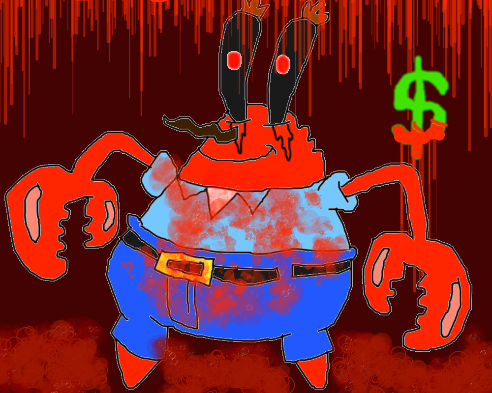 mr krabs exe by conlimic000 on deviantart